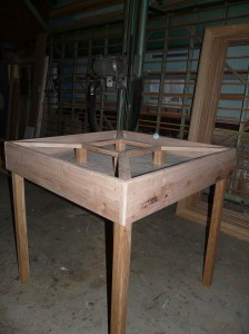 fabrication d 39 une table de jardinage val d 39 oise yvelines. Black Bedroom Furniture Sets. Home Design Ideas