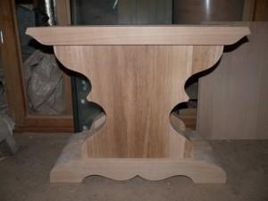 PIED table de ferme monastère