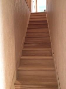 escalier vue du bas