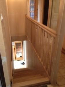 escalier vue du haut