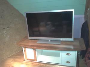 Fabrication d'un meuble télé à Rosny sur seine Yvelines proche de Vernon 27 Eure Mante la jolie 78