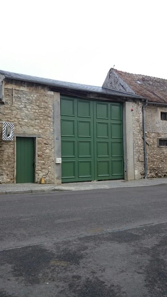 Fabrication portail motoriser en chêne près de ROISSY, par Menuiserie Philippe Guichaux, EURE 27 proche de Vernon 27 et Gisors 27
